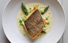 Grilled plaice with mustard and tarragon sauce by Nathan Outlaw