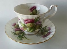 Royal Albert Teacup Highland Thistle