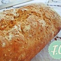 Πανεύκολο Χωριάτικο Ψωμί By Ευα Μονοχαρη Published: Οκτωβρίου 25, 2013Yield: 1 μεγάλο καρβέλιPrep: 2 hrs 0 minCook: 50 minsReady In: 2 hrs