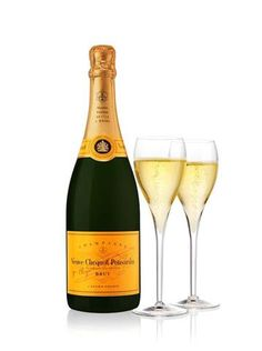 Veuve Cliquot...the problem with this is that its fantastic.  And it makes even more fantastic mimosas.  Easily a very expensive vice to have.