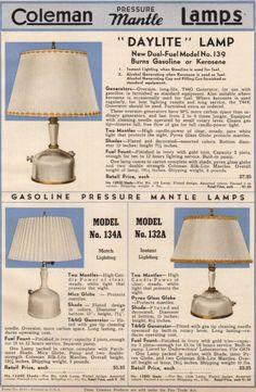Vintage Coleman Lanterns: Collecting Old Coleman Lanterns & Lamps