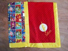 Flash Minky Blanket your choice of size minky color by FourLoves