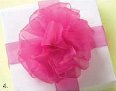 """How to make bows without a """"bow maker"""" contraption.  Choose your own ribbon, use curing ribbon or wire ties to secure."""