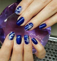 Artistic Colour Gloss Contempo Available At Louella Belle #ArtisticNailDesign #ArtisticColourGloss #Blue #BlueNails #GelPolish #LouellaBelle