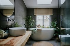 Best Bathroom Designs, Bathroom Interior Design, Bathroom Design Inspiration, Home Decor Inspiration, Balinesisches Bad, Suite Principal, Bathroom Styling, Beautiful Bathrooms, Modern House Design