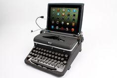 Endlich eine nützliche Verwendung für die alte Schreibmaschine