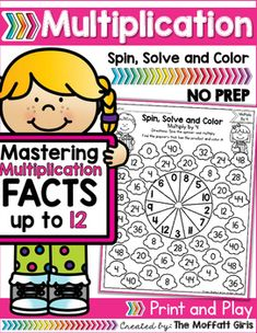 Mastering multiplication facts is such an important component to math fluency.