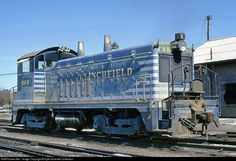 RailPictures.Net Photo: CRR 360 Clinchfield Railroad EMD NW2 at Erwin, Tennessee by Kyle Korienek Collection