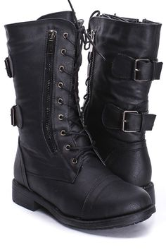 black combat boots for juniors | Gommap Blog