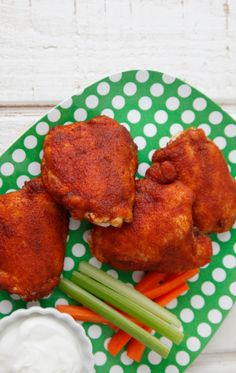 Make this easy Sweet and Spicy Chicken for your next potluck or party to feed a crowd! It's an easy recipe that kids and adults both love!