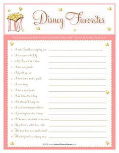 Instant Shower Games : Baby Showers