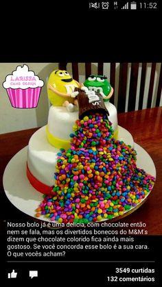 Morri com esse bolo!