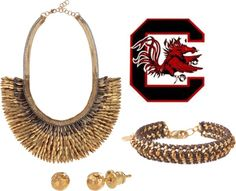 """""""Cheer for USC like a Gamecock!"""" by robin-willis on Polyvore"""