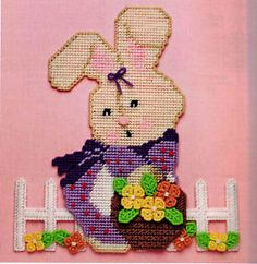 plastic canvas wall hangings easter - Google Search
