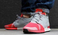 Nike Air Berwuda: Grey/Red