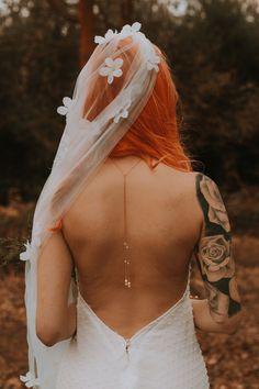 Woodland Ivy, Wedding Ideas for a Modern Alternative Bride - Bish Bosh Becca Wedding Shoot, Boho Wedding, Dresses Uk, Bridal Dresses, Different Wedding Dresses, Uk Bride, Dress Jewellery, Wedding Converse, New Jewellery Design