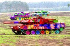 Leopard 2 cirkuszok, játszóterek és bohóc iskolák elleni speciális felkészítéssel!