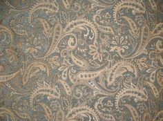 """Royalty Paisley Chenille Upholstery Drapery fabric by the yard 57"""" Wide by fabulessfabrics on Etsy https://www.etsy.com/listing/187395768/royalty-paisley-chenille-upholstery"""