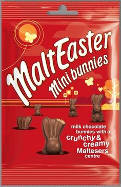 Maltesers Easter Chocolate Sweet Like Chocolate, Chocolate Dreams, Chocolate Sweets, Chocolate Heaven, Easter Chocolate, Chocolate Explosion Cake, Happy New Year Gift, Chibi Food, Chocolate Packaging