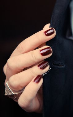 This is a great little blood-red. Essie's Skirting the Issue