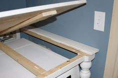 Laundry Room Countertop, Laundry Nook, Tiny Laundry Rooms, Laundry Room Remodel, Laundry Closet, Laundry Room Organization, Laundry Room Design, Laundry In Bathroom, Laundry Table