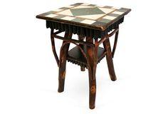DNUSmall Larken Table, Maple/Multi