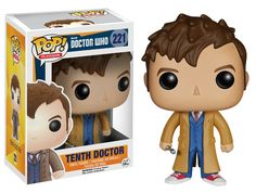 funko 10th doctor $10.99 Pre-Order for June 15th release, expected to sell out, pre-order recommended. Doctor Who toys merchandise gifts #doctorwho
