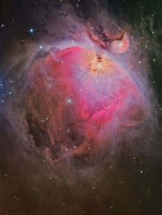 The entire Orion Nebula as seen by the Hubble Space Telescope in visible light. Credit: NASA, ESA, M. Robberto (Space Telescope Science Institute/ESA) and the Hubble Space Telescope Orion Treasury. Cosmos, Interstellar, Constellations, Hubble Images, Hubble Pictures, Hubble Photos, Astronomy Pictures, Star Formation, Orion Nebula