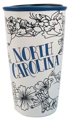 North Carolina, Starbucks, Tumbler, Ceramics, Ceramica, Pottery, Drinkware, Tumblers, Mug