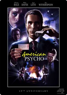 American Psycho poster by Ralf Krause.