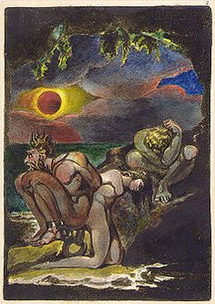 """""""Visions of the Daughters of Albion,"""" by William Blake (1793), a critique of marriage as an institution."""