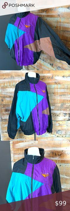 Vintage early 90's Nike Stadium Jacket. Very thick Depop