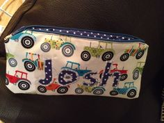 Pencil case for Josh