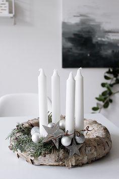 MA MAISON BLANCHE: Adventní věnec / Advent Wreath