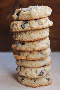 Chocolate Chip, Coconut, & Almond Flour Cookies {Paleo} Chocolate Chip, Coconut, & Almond Flour Cookies {Paleo} « Healthy Food For Living Paleo Chocolate Chip Cookies, Almond Flour Cookies, Paleo Cookies, Coconut Cookies, Almond Flour Baking, Almond Flour Desserts, Paleo Flour, Blueberry Cookies, Almond Chocolate