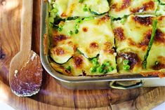 16 september - Groene aspergetips in de bonus - Deze heerlijke groene lasagne brengt je weer even terug naar bella Italia - Recept - Allerhande