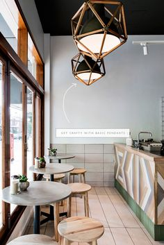 idea to steal: geometric caging over basic pendants |coco+kelley #inthedetails