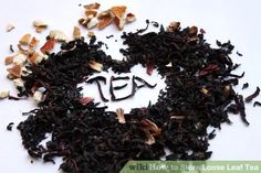 How to store loose leaf tea