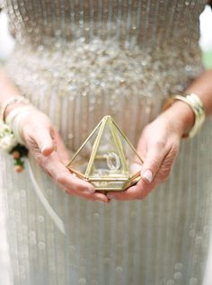 """If you're looking for a surefire way to get a """"yes,"""" these engagement ring holders are sure to tip the odds in your favor. 10 Engagement Ring Holders Guaranteed to Make Them Say Yes! Cool Wedding Rings, Wedding Ring Box, Rings Cool, Wedding List, On Your Wedding Day, Engagement Ring Holders, Engagement Rings, Wedding Planning Inspiration, Toronto Wedding"""