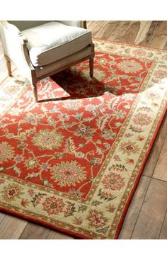 Rugs USA Folklore VT07 Red Rug