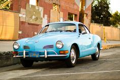 1971 Volkswagen Karmann Ghia I had a white 71.  I should have not sold it.  I miss it badly!!!!