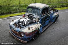 I constantly search Craigslist for cars I can fix/flip/build, and some time back I came across a local ad for an old Ford F1 truck. My Matco tool rep had told me about the same truck a few weeks earlier, so I decided to go take a look with my good friend, and apprentice Pierre. …