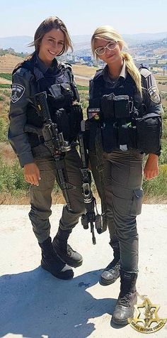 Amazing WTF Facts: Beautiful women in Israel Defense Forces - IDF Army Girls - Israel Military Women - Israeli Female Soldiers Idf Women, Military Women, Mädchen In Uniform, Israeli Female Soldiers, Military Girl, Girls Uniforms, Badass Women, Gi Joe, Girl Photos