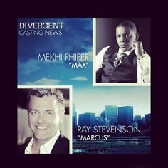 It's official! Ray Stevenson and Mekhi Phifer have joined the 'Divergent' cast.