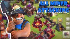 OMG!!! Serangan MINER Setelah Update - Clash Of Clans