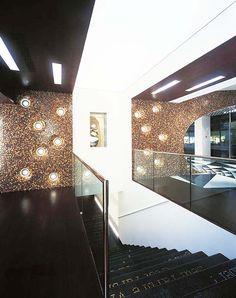 Bisazza-Showrooms, Farbliche Gestaltung: MFG