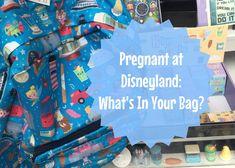 Pregnant at Disneyland: What's In Your Bag? - Babes in Disneyland Disney Home, Walt Disney World, What's In Your Bag, Disneyland Resort, What To Pack, You Bag, Packing, Bags, Brownies