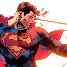 Superman by jorge jimenez dc Comic Book Artists, Comic Artist, Comic Books Art, Superman Artwork, Batman Vs Superman, Dc Comics Characters, Dc Comics Art, Clark Kent, Marvel Dc