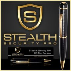 Spy Pen Camera HD Cam - Premium Quality Hidden DVR Camcorder - 8GB SD Card - Spy Gear Gadgets USB Mini Digital Video Recorder Equipment - Nanny, Pinhole, Surveillance, Home Security Systems - Best Buy Covert Spycam Cameras & Cams - Spy Stuff Store Shop - Best Quality High Definition Pen Camera You Can Buy On Amazon by Stealth Security Pro, http://www.amazon.com/dp/B00DHRG9U8/ref=cm_sw_r_pi_dp_ycKqsb0J8E2QY
