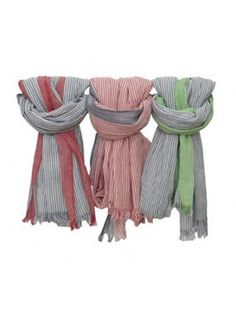CO COTTON LINE SCARF. SCARFS. SUMMER 2015. STRIPES. MENS . STYLE. ACCESSORIES Summer 2015, Scarfs, Men's Fashion, Stripes, Cotton, Accessories, Collection, Style, Men
